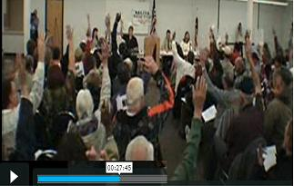 click here for the town meeting video page