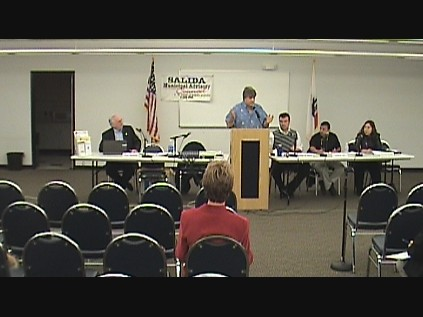 Click here to watch the online video on the Salida Ca town meeting