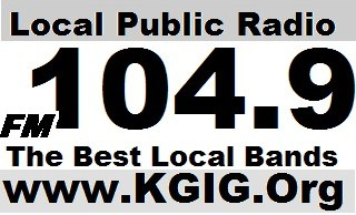 FM 104.9 FM KGIG The GIG Modesto's NEW Local Public Radio Station